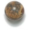 Semi-Precious 10mm Round Picture Jasper